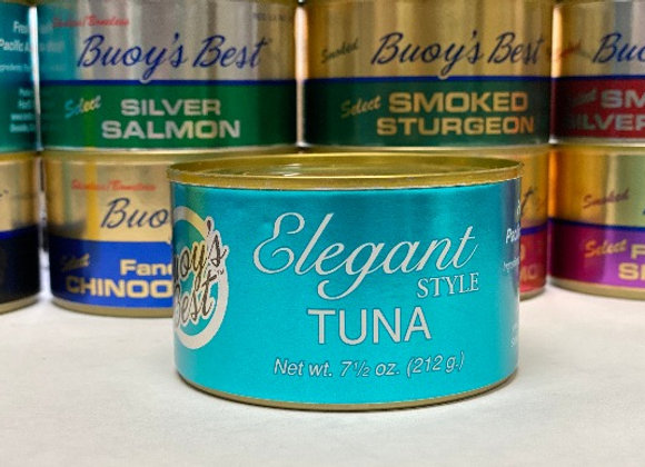 Award Winning! Elegant Albacore Tuna - Half Case 12 Cans