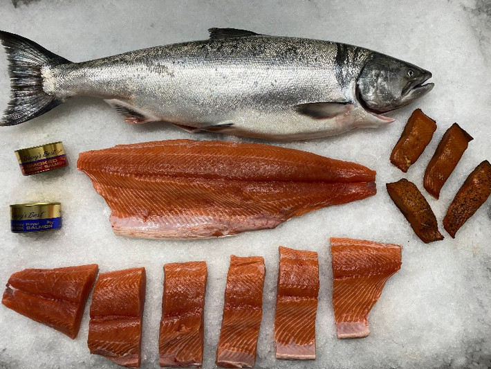 Salmon Fillets for sale