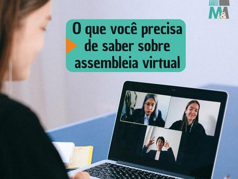 O que você precisa de saber sobre assembleia virtual