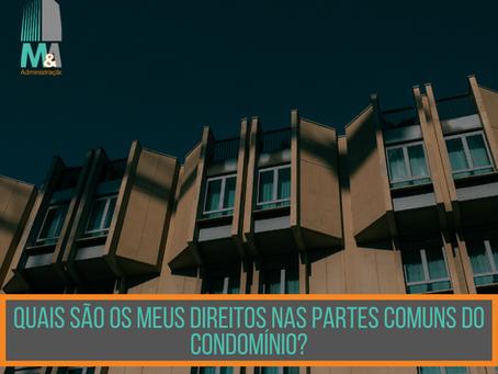 Quais são os meus direitos nas partes comuns do prédio?