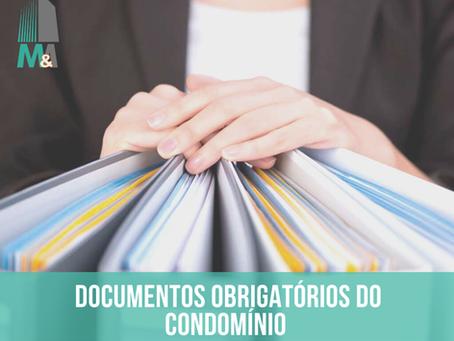 Documentos obrigatórios do condomínio