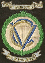 RAF 105th Blazer Badge