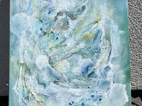 Komposition mit weiß