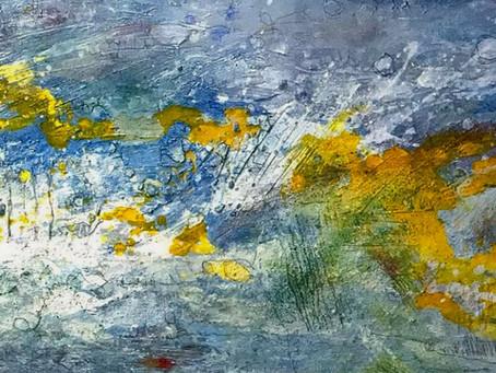 Abstrakte Landschaft