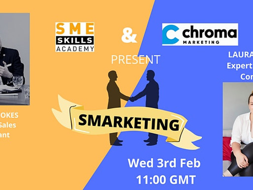 You're invited to our Get Smarketing Webinar