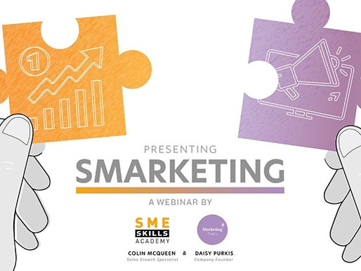 You're invited to our Smarketing Webinar