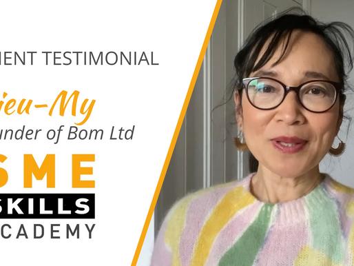 🍝New Testimonial Video -Bom Ltd Cooking Classes