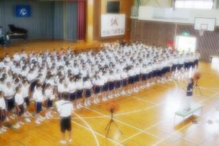 中学校への合唱指導