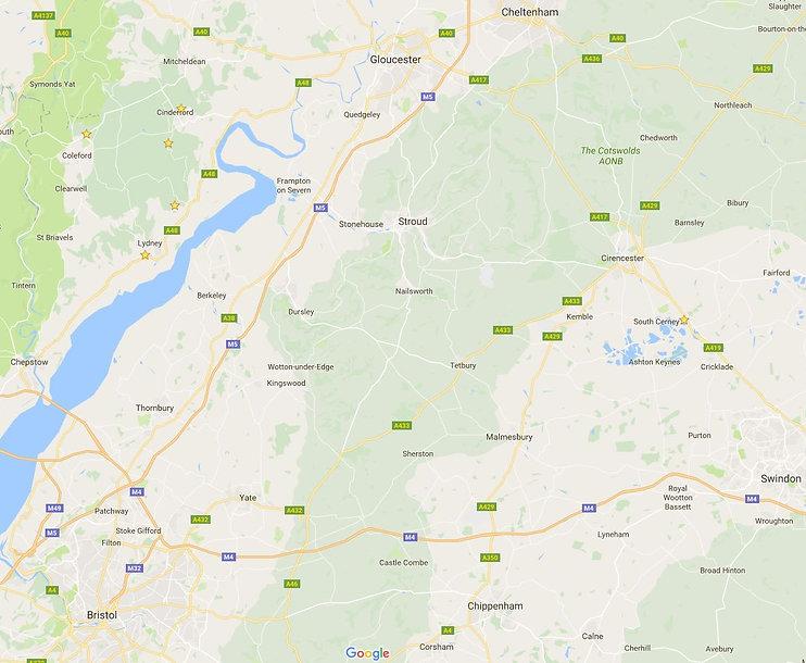 Our ArcheryTag Locations