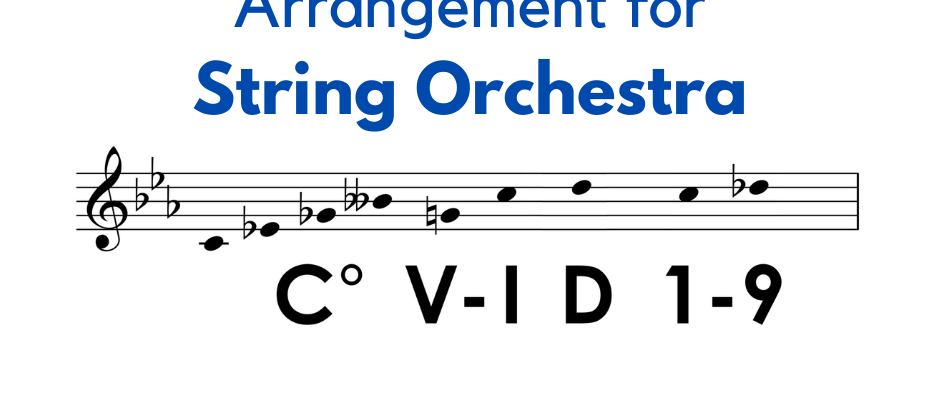 The COVID-19 Fugue - String Orchestra Arrangement
