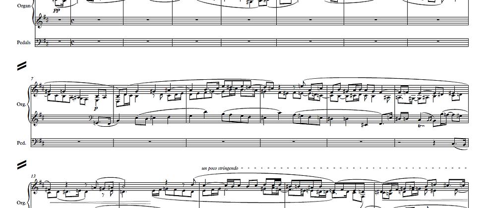 Max Reger - Fugue from Op.81 - Arrangement for Organ