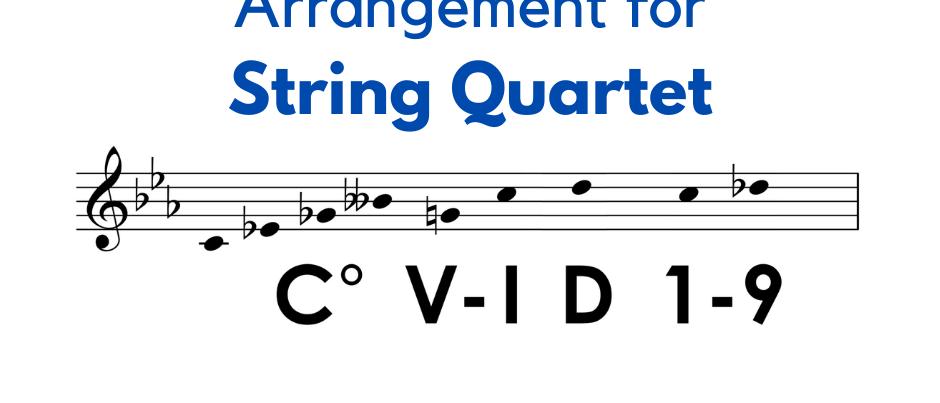 The COVID-19 Fugue - String Quartet Arrangement