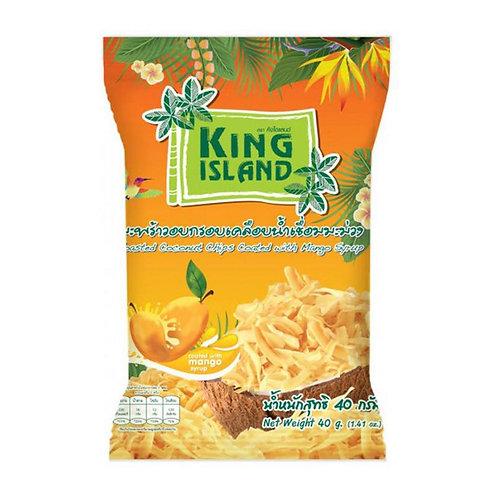 Кокосовые чипсы King Island с манго (24 шт.)