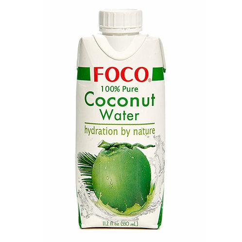 FOCO Кокосовая вода без сахара (12 шт.)