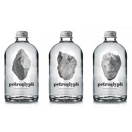 Вода Petroglyph в стекле 375 мл