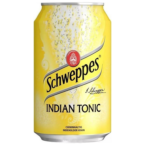 Schweppes Indian Tonic ж/б 355мл (24шт)