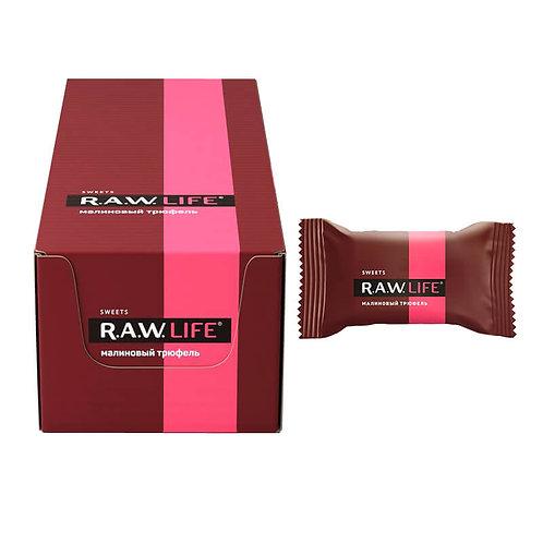 Конфеты RAW Life | Малиновый трюфель 18г (20 шт)