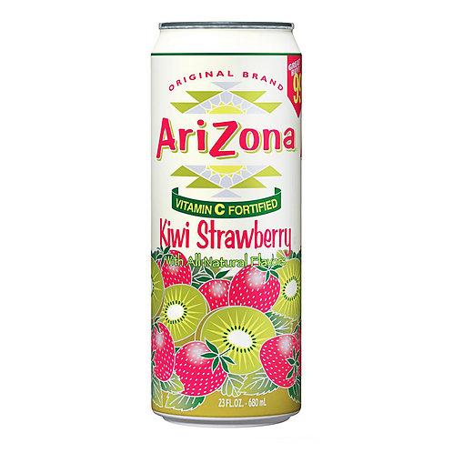 Холодный чай Arizona Tea - Kiwi Strawberry 0,680 л ж/б