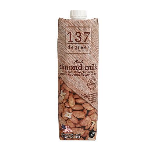 Миндальное молоко 137 Degrees с нектаром кокосовых соцветий, 1000 мл