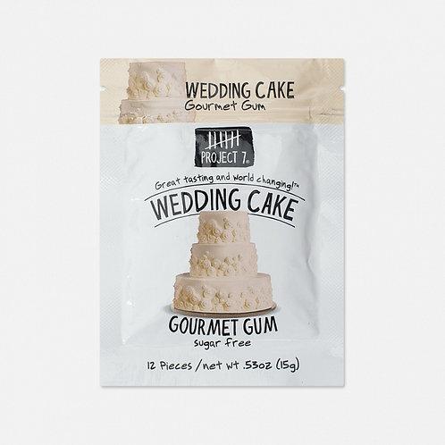 Жевательная резинка Project 7 Wedding Cake (12 шт.)