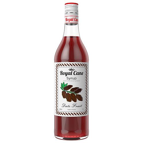Сироп Royal Cane Финик 1 литр, стекло (6 шт.)