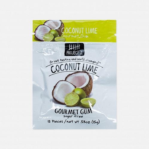 Жевательная резинка Project 7 Coconut Lime (12 шт.)