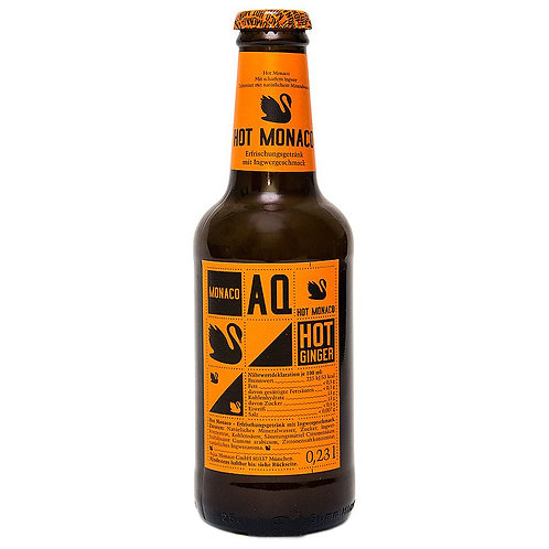 Напиток MONACO - Hot | Имбирь, с газом 0,23 л (24 шт)