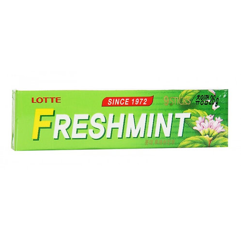 Жевательная резинка LOTTEGUM Freshmint (9 пластин/15 шт)