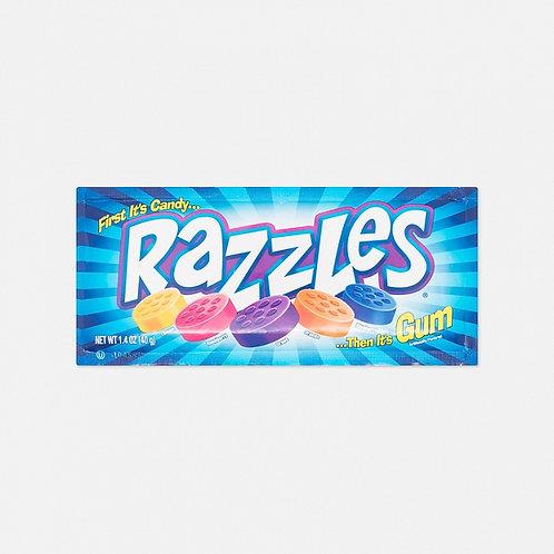 Конфета - жевательная резинка Razzles Original (24 шт.)