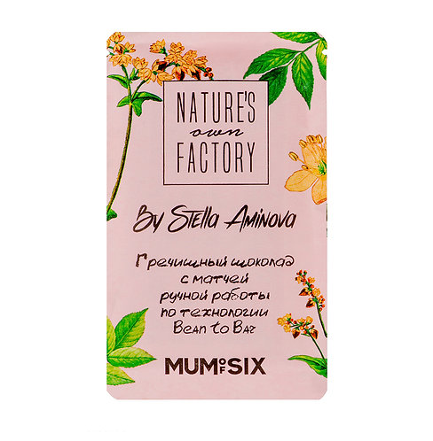 Гречишный шоколад с матчей Nature's Own Factory (20г)