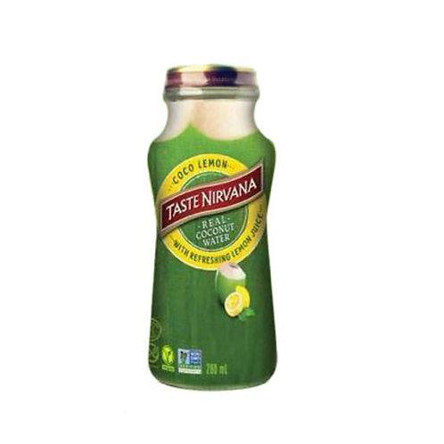 Кокосовый сок Taste Nirvana с лимоном 280 мл. (24 шт.)