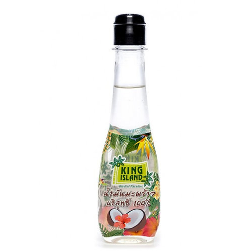 KING ISLAND 100% натуральное кокосовое масло 200 мл бутылочка (12 шт.)
