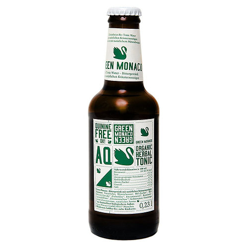 Напиток Monaco Tonic Bio Green   Био-тоник с травами газ 0,23 л (24 шт)
