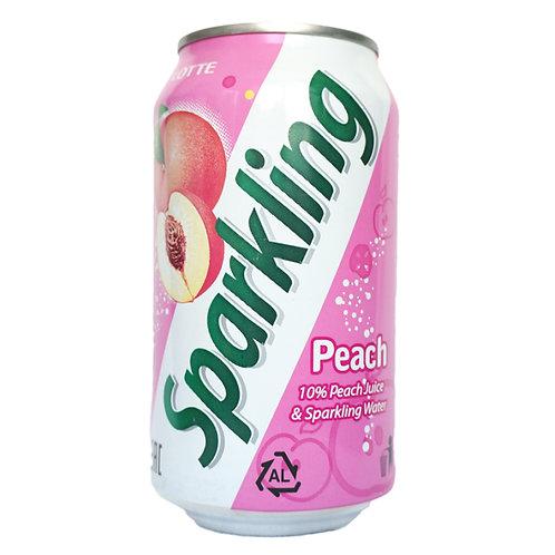 Сокосодержащий газированный напиток Sparkling Персик ж/б 355 мл (24 шт)