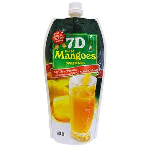 Пюре из манго концентрированное 7D 0,5л (12 шт)