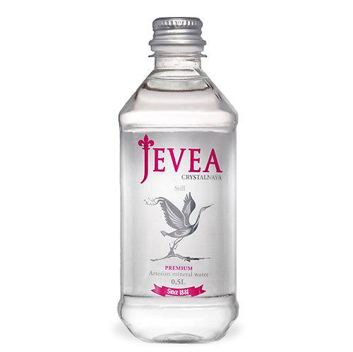 Вода JEVEA CRYSTALNAYA | Минеральная без газа 1 л (6 шт)