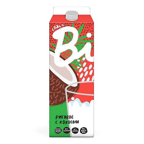 Растительное молоко Bite - Рисовое с кокосом 1л