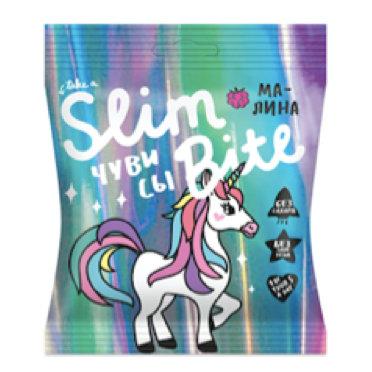 Мармелад-чувисы Bite Slim Unicorn Малина 20г