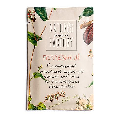 Гречишный молочный шоколад Nature's Own Factory (20г)