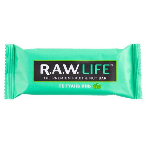 RAW LIFE | Те Гуань Инь, энергетический батончик 47г (20шт)