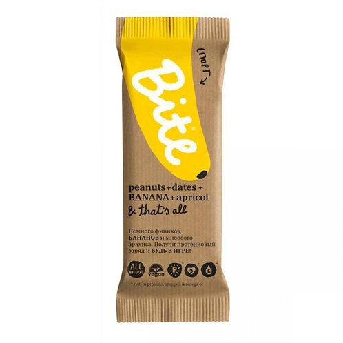 Батончик Bite - Арахис-Банан (Спорт) 45г