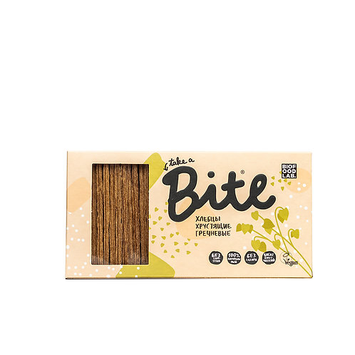 Хлебцы Bite хрустящие гречневые 150 гр (8 шт)