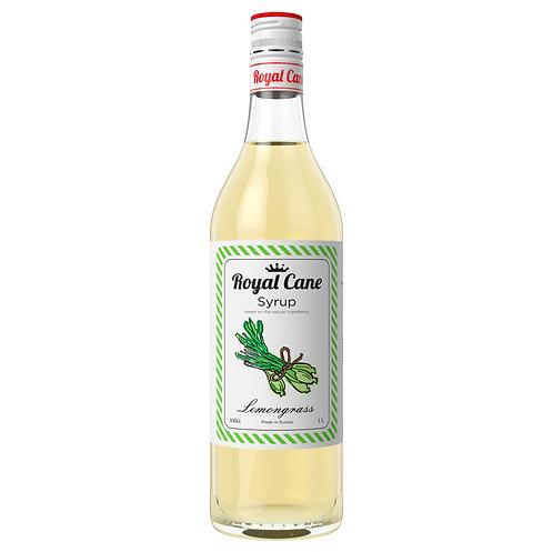 Сироп Royal Cane Лемонграсс 1 литр, стекло (6 шт.)