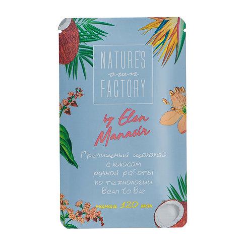 Гречишный шоколад с кокосом Nature's Own Factory (20г)