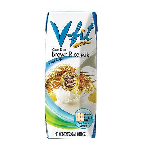 V-FIT Молоко из коричневого риса без сахара 250 мл (36 шт.)