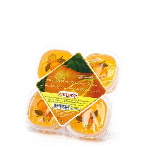 CHAOKOH Конжаковое желе апельсин 115г х 4 (12 шт.)