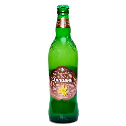Лимонад Хилиани Сливочный 0,5л стекло (20шт)