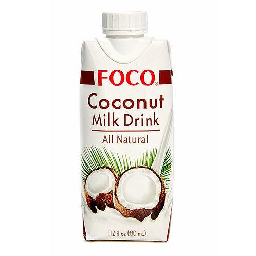 FOCO Кокосовый молочный напиток 330 мл (12 шт.)