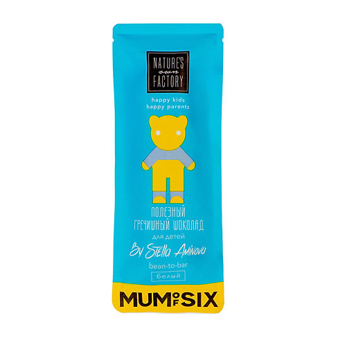 Гречишный Белый шоколад Nature's own factory & MUMofSIX (20г)