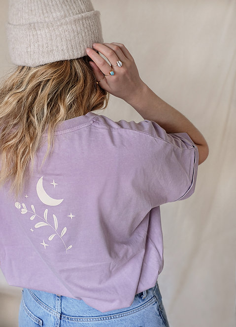 T-Shirt Frauen lilac • Moonflower •